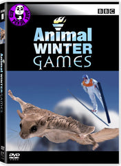 Animal Winter Games DVD (BBC) (Region 3) (Hong Kong Version)