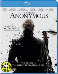 Anonymous Blu-Ray (2011) (Region A) (Hong Kong Version)