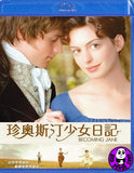 Becoming Jane Blu-Ray (2007) (Region A) (Hong Kong Version)