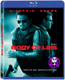 Body Of Lies 叛諜同謀 Blu-Ray (2008) (Region A) (Hong Kong Version)