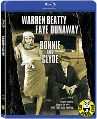 Bonnie And Clyde Blu-Ray (1967) (Region A) (Hong Kong Version)
