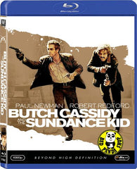 Butch Cassidy And The Sundance Kid Blu-Ray (1969) (Region A) (Hong Kong Version)