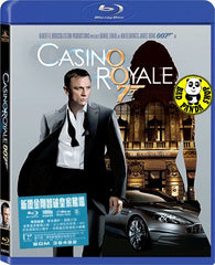 007: Casino Royale 新鐵金剛智破皇家賭場 Blu-Ray (2006) (Region A) (Hong Kong Version)