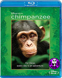 Chimpanzee 黑猩猩的世界 Blu-Ray (Disneynature) (Region A) (Hong Kong Version)
