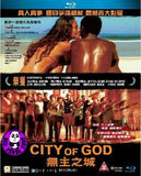 City of God (2002) (Region A Blu-ray) (English Subtitled) Brazilian Movie a.k.a. Cidade de Deus