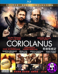 Coriolanus Blu-Ray (2011) (Region A) (Hong Kong Version)