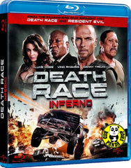 Death Race Inferno Blu-Ray (2012) (Region A) (Hong Kong Version)
