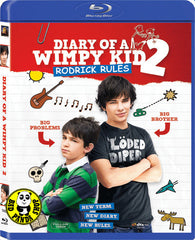Diary Of A Wimpy Kid 2 Rodrick Rules Blu-Ray (2011) (Region A) (Hong Kong Version)