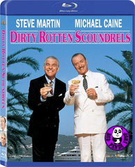 Dirty Rotten Scoundrels Blu-Ray (1988) (Region Free) (Hong Kong Version)