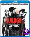 Django Unchained Blu-Ray (2012) (Region Free) (Hong Kong Version)