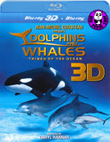 Dolphins & Whales 2D + 3D Blu-Ray (Jean-Michel Cousteau) (Region Free) (Hong Kong Version)