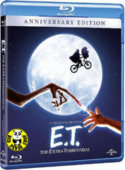 E.T. The Extra-Terrestrial Blu-Ray (1982) (Region A) (Hong Kong Version) Anniversary Edition
