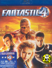 Fantastic Four Blu-Ray (2005) (Region A) (Hong Kong Version)