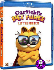 Garfield's Pet Force Blu-Ray (2009) (Region A) (Hong Kong Version)