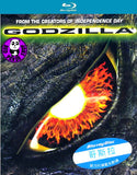Godzilla Blu-Ray (1998) (Region Free) (Hong Kong Version)
