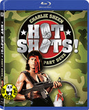 Hot Shots! Part Deux Blu-Ray (1993) (Region A) (Hong Kong Version)