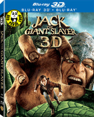 Jack The Giant Slayer 2D + 3D Blu-Ray (2013) (Region Free) (Hong Kong Version) 2 Disc Edition