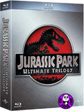 Jurassic Park Ultimate Trilogy 3 movie Blu-Ray Boxset (Region A) (Hong Kong Version)