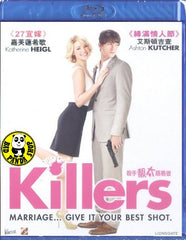 Killers Blu-Ray (2010) (Region A) (Hong Kong Version)