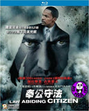 Law Abiding Citizen Blu-Ray (2009) (Region A) (Hong Kong Version)