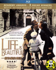 Life Is Beautiful (1997) (Region A Blu-ray) (English Subtitled) Italian Movie a.k.a. La Vita e Bella