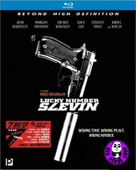 Lucky Number Slevin Blu-Ray (2006) (Region A) (Hong Kong Version)