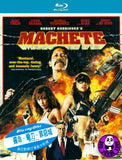 Machete Blu-Ray (2010) (Region A) (Hong Kong Version)