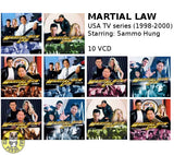 Martial Law (1998-2000) (VCD) (Hong Kong Version) USA TV Series 10 Episodes
