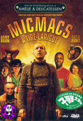 Micmacs (2010) (Region 3 DVD) (English Subtitled) French Movie