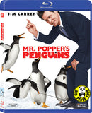 Mr. Popper's Penguins Blu-Ray (2011) (Region A) (Hong Kong Version)