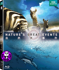 Nature's Great Events Blu-Ray (BBC) (Region A) (Hong Kong Version)