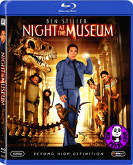 Night At The Museum Blu-Ray (2006) (Region A) (Hong Kong Version)