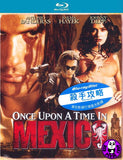 Once Upon A Time In Mexico Blu-Ray (2003) (Region Free) (Hong Kong Version)