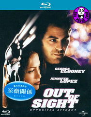 Out Of Sight Blu-Ray (1998) (Region A) (Hong Kong Version)