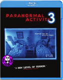 Paranormal Activity 3 Blu-Ray (2011) (Region A) (Hong Kong Version)