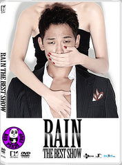 Rain (Jung Ji Hoon) - Rain The Best Show Live Concert DVD (2012) (Region 3)
