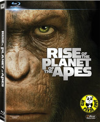 Rise Of The Planet Of The Apes Blu-Ray (2011) (Region A) (Hong Kong Version)