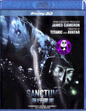 Sanctum 2D + 3D Blu-Ray (2011) (Region A) (Hong Kong Version)