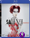 Saw VI Unrated Version Blu-Ray (2009) (Region A) (Hong Kong Version) a.k.a. Saw 6