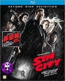 Sin City Blu-Ray (2005) 罪惡城 (Region A) (Hong Kong Version)