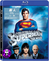 Superman: The Movie Blu-Ray (1978) (Region A) (Hong Kong Version) Director's Cut