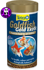 Tetra Goldfish Gold Exotic Premium Food for All Goldfish 250ml (Other Brands) (Fish Food)