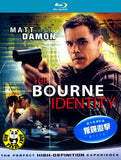The Bourne Identity Blu-Ray (2002) (Region A) (Hong Kong Version)