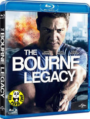The Bourne Legacy Blu-Ray (2012) (Region A) (Hong Kong Version) a.k.a. The Bourne Identity 4