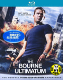 The Bourne Ultimatum Blu-Ray (2007) (Region A) (Hong Kong Version) a.k.a. The Bourne Identity 3