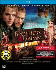 The Brothers Grimm Blu-Ray (2005) (Region A) (Hong Kong Version)