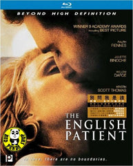 The English Patient Blu-Ray (1996) (Region A) (Hong Kong Version)
