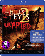 The Hills Have Eyes 2 Blu-Ray (2007) (Region A) (Hong Kong Version) Unrated version