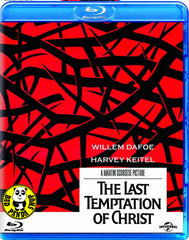 The Last Temptation Of Christ Blu-Ray (1988) (Region A) (Hong Kong Version)