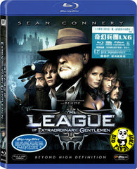 The League Of Extraordinary Gentlemen Blu-Ray (2003) (Region Free) (Hong Kong Version)